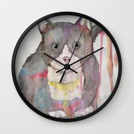 Universe Cat Wall Clock