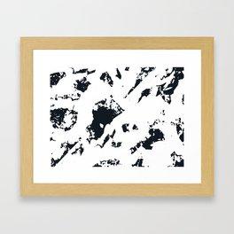 Marble°1 Framed Art Print