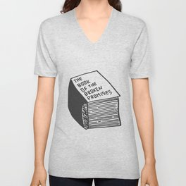The Book of the Broken Promises Unisex V-Neck