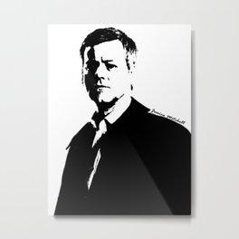 DI Greg Lestrade Metal Print