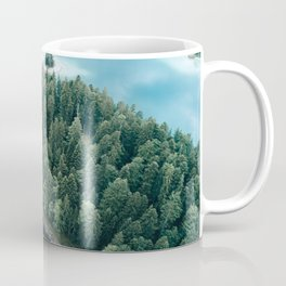 Mountain in a Lake - Landscape Photography Coffee Mug