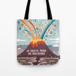 My creative power Tote Bag