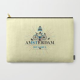 amsterdam & istanbul Carry-All Pouch