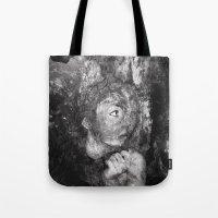 grim fandango Tote Bags featuring Grim by Rowye