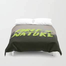 Force of Nature x Cloud Forest Duvet Cover