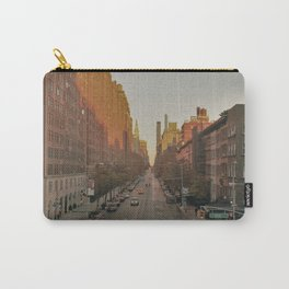 The Yellow Muted City (Color) Carry-All Pouch