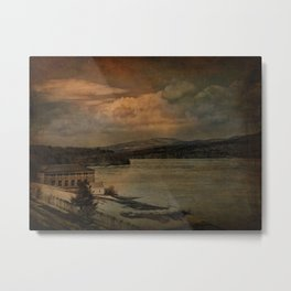 Changing Seasons at The Rondout Metal Print