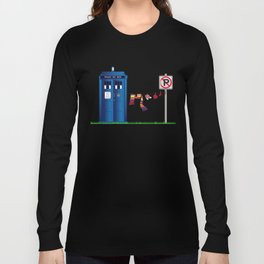 Doctor Who: tardis wardrobe  Long Sleeve T-shirt
