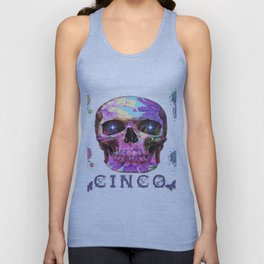 Cinco colored from Paris & Tokyo Unisex Tank Top