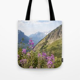 Mountain Blossoms Tote Bag