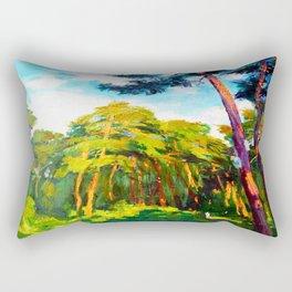 Whisper of pines Rectangular Pillow