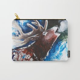 Deer - Valentine - animal by LiliFlore Carry-All Pouch