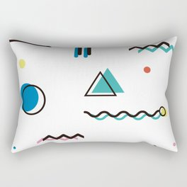 Houston 1990 Rectangular Pillow