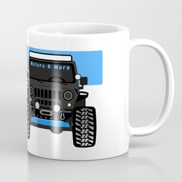 [JEEP] Motors-N-More 'BLUE' Coffee Mug