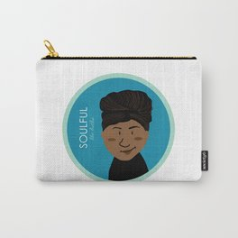 Soulful like Aretha Franklin Carry-All Pouch