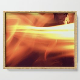 Fire Serving Tray