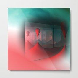 colors and mirrors Metal Print
