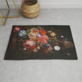 Bouquet of Planets Rug