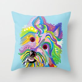 Westie West Highland Terrier Throw Pillow