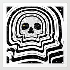 Blackout Art Print