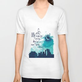 The Lunar Chronicles Quote Unisex V-Neck