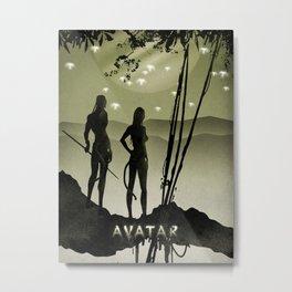 Avatar poster Metal Print