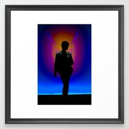 The Backlit Kit Framed Art Print