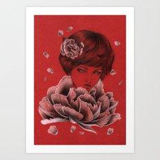 Peony IV Art Print