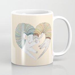 Ferret Sleep Love Coffee Mug