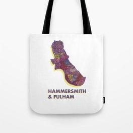 Hammersmith & Fulham - London Borough - Colour Tote Bag