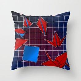 Transfolders Throw Pillow
