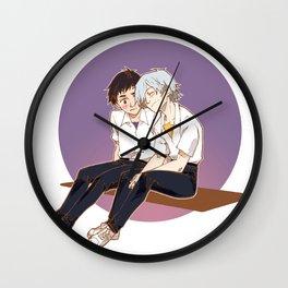 Kaworu & Shinji Wall Clock
