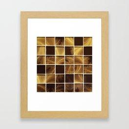 Rays of Gold Framed Art Print