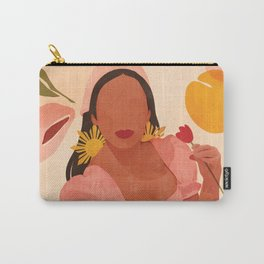Filipina Girl Carry-All Pouch