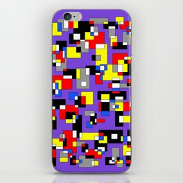 Squares and Rectangles iPhone Skin