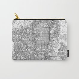 Kyoto Map Line Carry-All Pouch