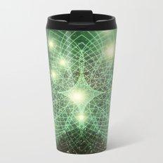 Geometry Dreaming Metal Travel Mug