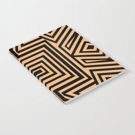 African Geometric Tribal Pattern 2 Notebook
