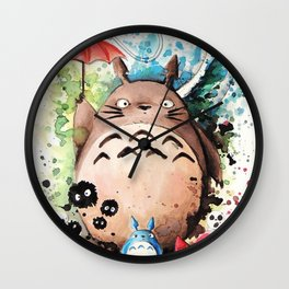 The Crossover Wall Clock