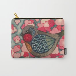 Blossom Birds Carry-All Pouch