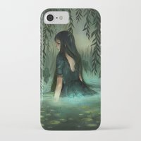 siren iPhone & iPod Cases featuring Siren by Olivia Chin Mueller