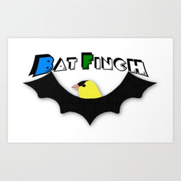 BatFinch Art Print