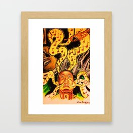 My First Love Framed Art Print