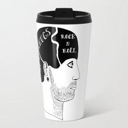 Alternative Phrenolgy Head Print by Emilythepemily Travel Mug