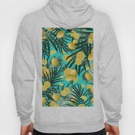 Summer Lemon Twist Jungle #1 #tropical #decor #art #society6 Hoody