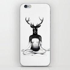 Deer Yoga iPhone & iPod Skin