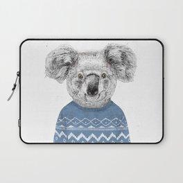 Winter koala Laptop Sleeve