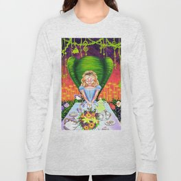 Alice in Wonderland at a Tea Party Long Sleeve T-shirt