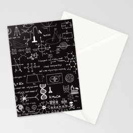 Science Madness Stationery Cards