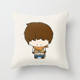 Colby the Cowboy Throw Pillow